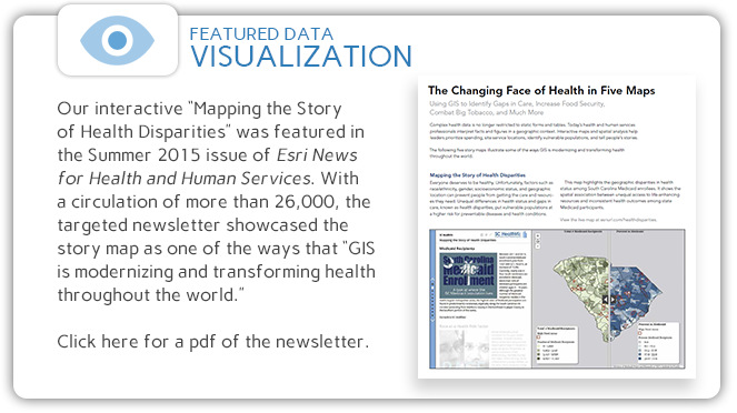Click to read the Esri newsletter article about our story map(pdf)