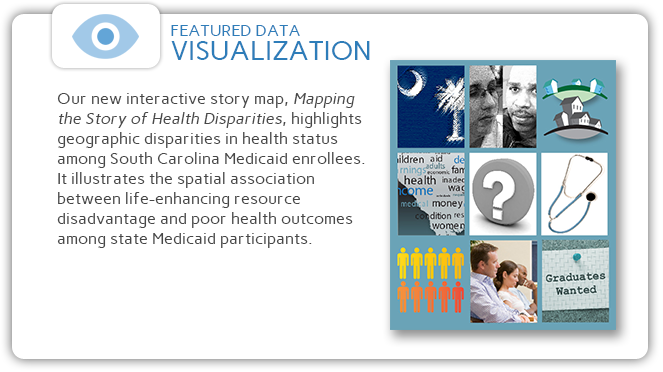 Click to go to an interactive story map about health disparities